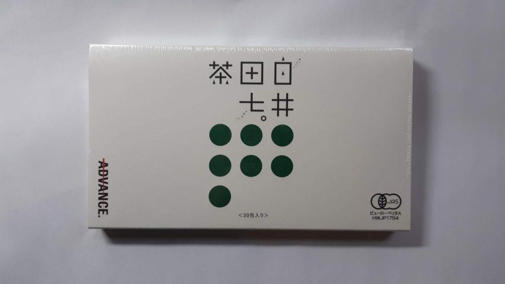 白井田七茶 箱