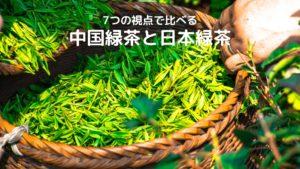 【7つの視点で比べる】中国緑茶と日本緑茶